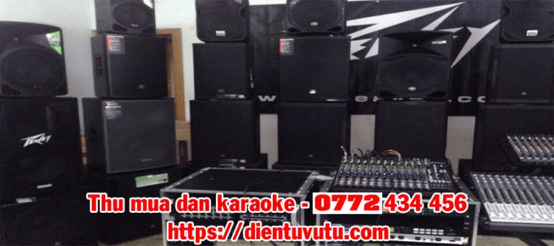 Thu mua dàn karaoke cũ giá cao Tp Hồ Chí Minh