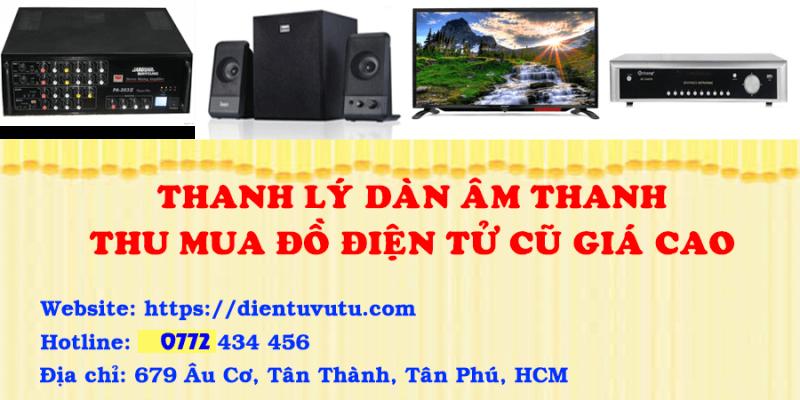 Thu mua loa cũ giá cao Tp Hồ Chí Minh